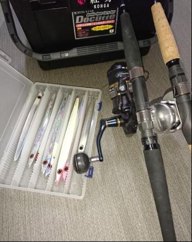 オフショア鰤ジギング太刀魚パターン用のロッドをご紹介