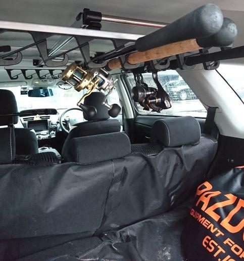 車に釣り荷物をそのまま詰めてない?汚れ物で車内を汚さない方法